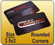 Rounded Corners Business Card - 3.5x2