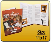 Wholesale 11x17 Brochures Printing for Resellers