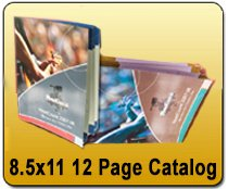 Wholesale 12 Page, 8.5x11 Catalog Printing Services