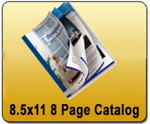8 Page Catalog - 8.5x11