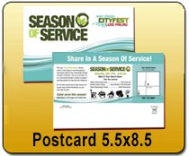 Wholesale 8.5x5.5 Postcards Printing