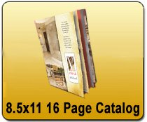Saddle Stitched 8.5 x 11 16 Pages - Catalog | Cheapest EDDM Printing